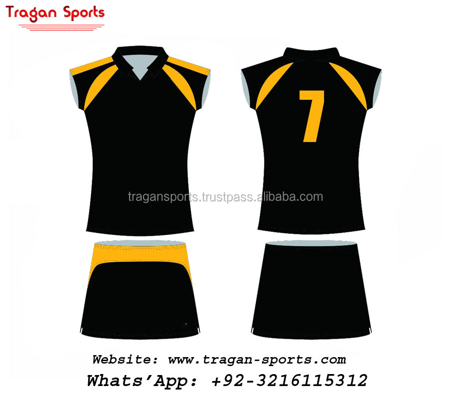 professional sublimation volleyball jersey hot sale fashionable women's volleyball jersey