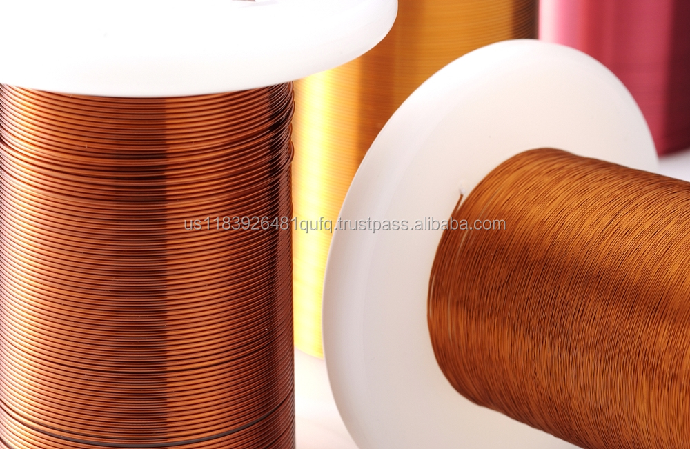Single-Coated Enameled wires, Magnet square wire