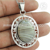 Crazy lace agate gemstone pendant handmade 925 sterling silver jewelry pendants wholesaler online