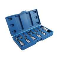 "13PCS 1/4'' 1/2"" 3/8'' Drive Mechanical Hand Tools Chrome Vanadium Hex Head Socket Bit Set"