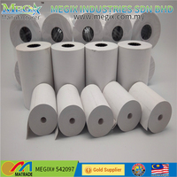 Hot sale ncr cash register thermal paper 80x70 80x80 direct thermal taxi paper rolls 55mm width