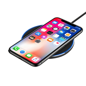UUTEK RSX8 10W Round fast wireless charger portable mobile phone  wireless charging