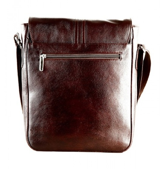 Sling Bag Leather Fashionable Men's Brown