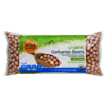 Wild Harvest Organic Garbanzo Beans Bag 1lbs