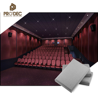 Light weight color selectable soundproof material fabric fiber acoustic panel