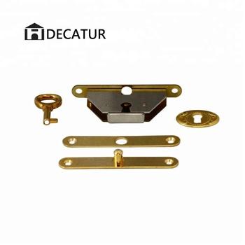 Solid Brass Zinc Die Cast Quadrant Lock Set For Jewelry Box Buy