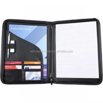 Resume Portfolio Folder | Conference Folder Pu Leather Padfolio Resume Portfolio Folder A4
