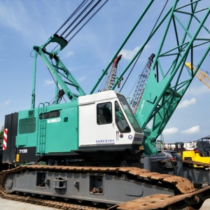 Used Japan Kobelco 7150 Crawler crane for sale in Shanghai