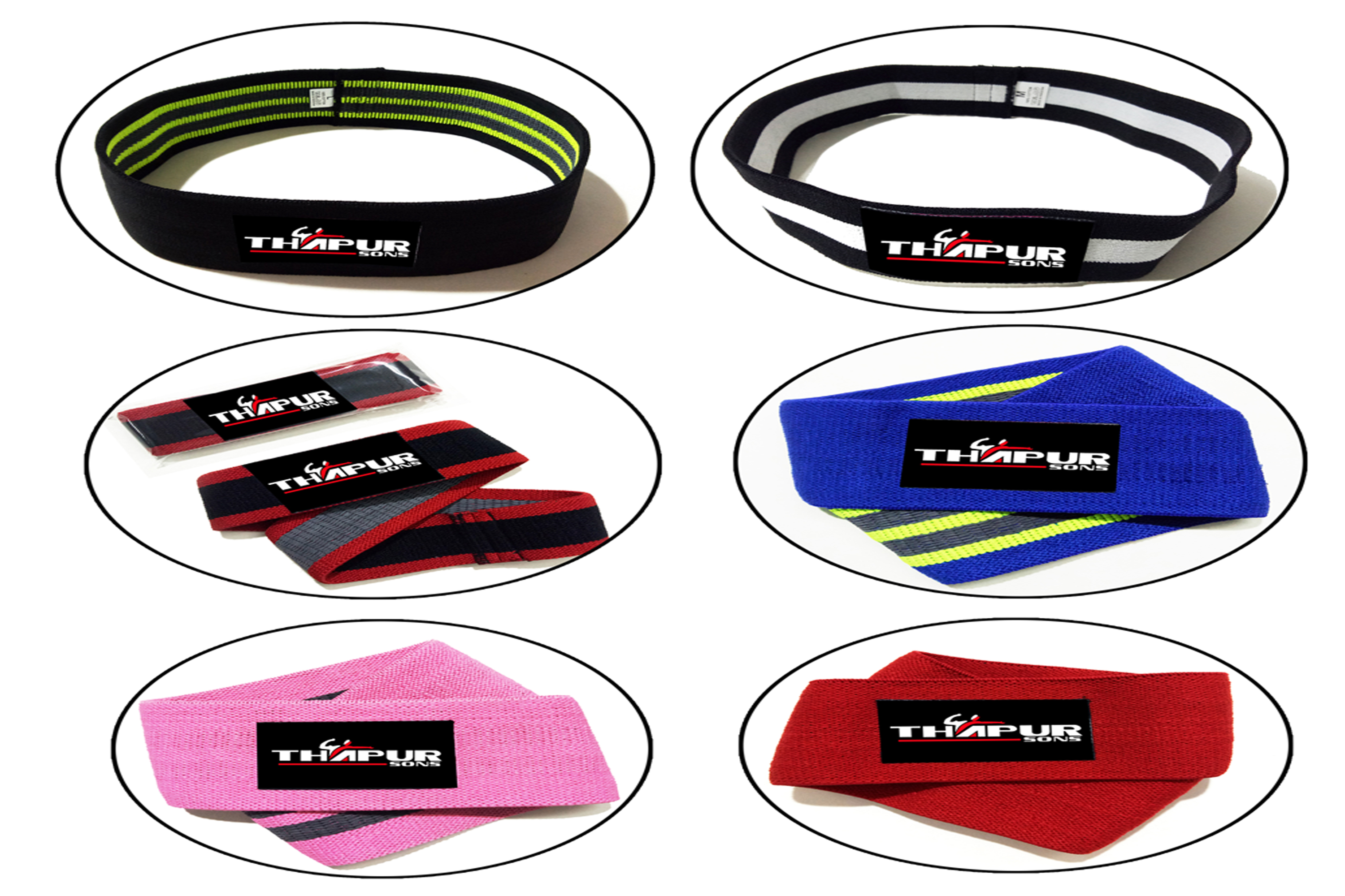 Custom Oefening Glute Weerstand Bands Hip Warm Up Activering bands