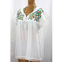 made in india Mexican embroidered dresses wholesale mexican traditonal clothes