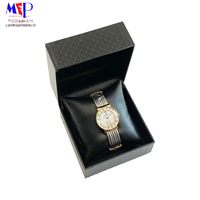 New product factory leather box packaging watch with jewelry organizer