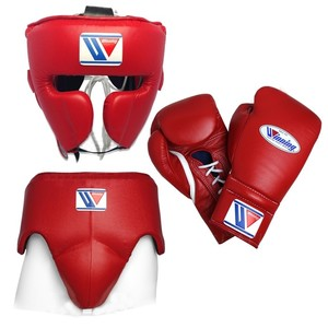 Winning Boxing Gloves with Set