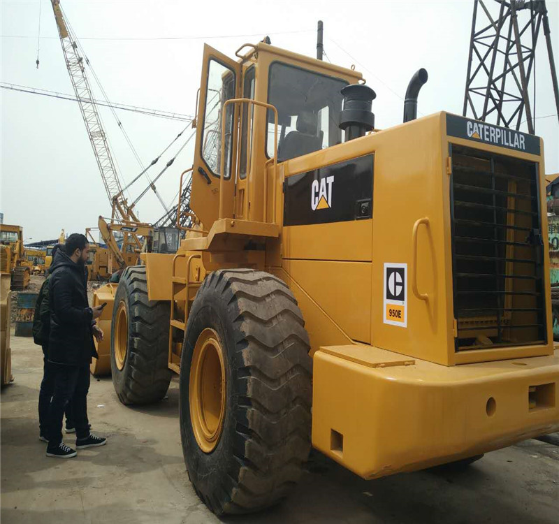 Used CAT 950E front wheel loader from Japan with new tyres