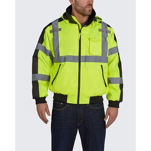 Custom Hi Visibility Reflective Jackets.