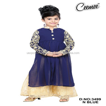 e50eb58f6d4d Indian Fashionable Designs Girls Plazo Suit / Girls Dresses - Buy ...