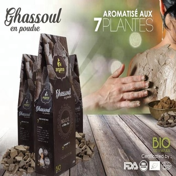Ghassoul marroquino / Rhassoul Lava Clay Atacado