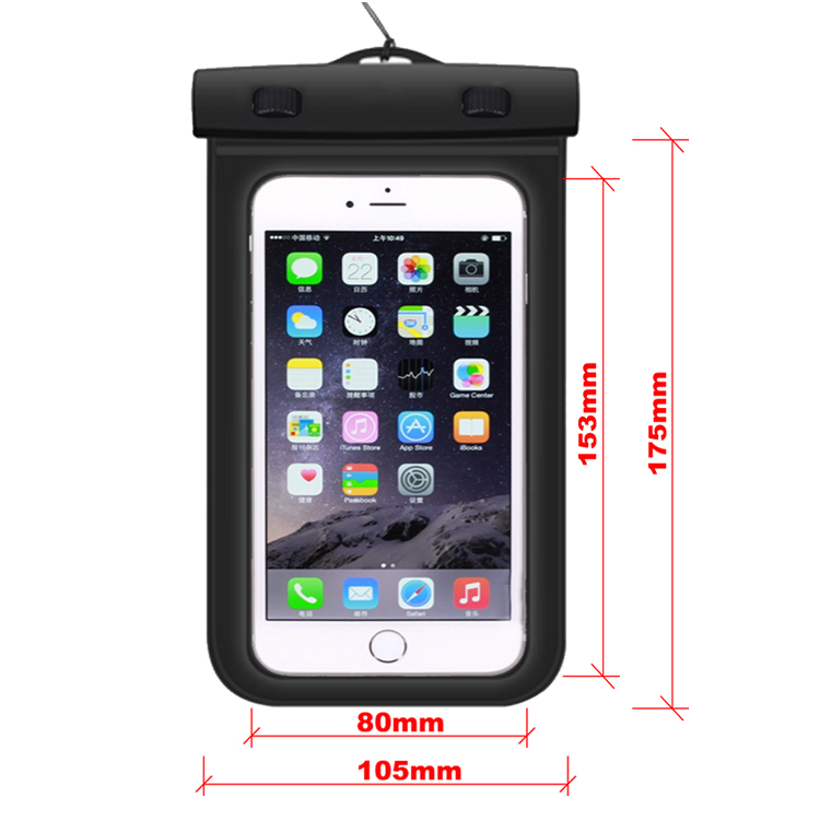 2020 Universal PVC Waterproof Phone bag Case for iPhone 11/11 Pro/11 Pro Max