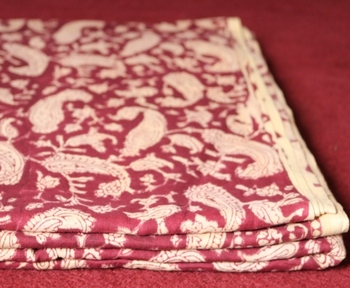 printed popular design pattern indian cotton voile fabric / Home textile & bed-sheets fabric