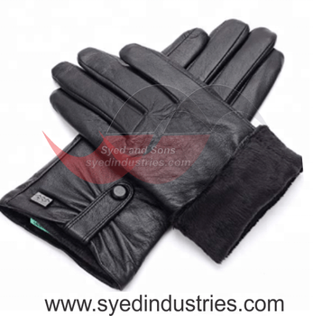 Ladies Fashion Leather Gloves made With Quality Sheep Leather