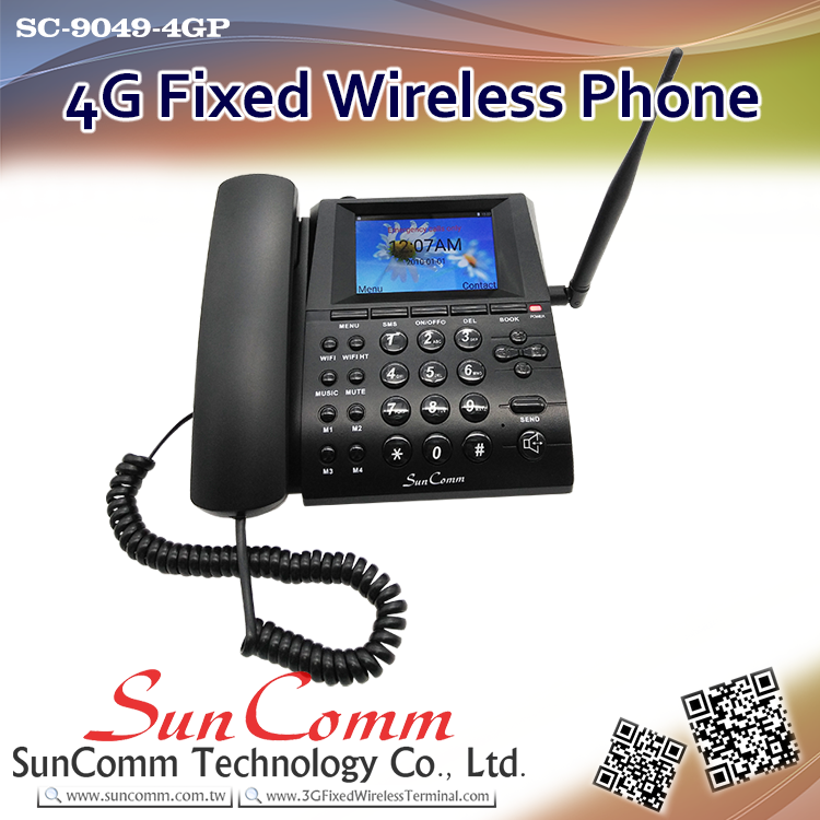 Sc-9049-4gp 4g Lte Fixed Cellular Telephone With Color Lcd - Buy 4g