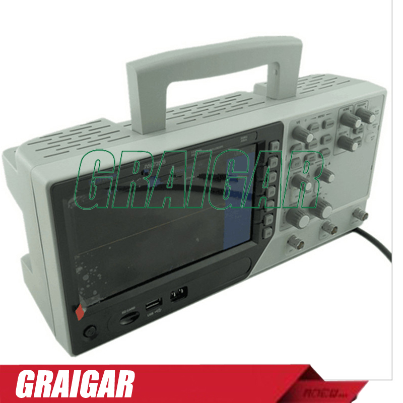 New Hantek DSO7202B Digital Storage Oscilloscope 2Gsa/s Real Sample Rate 2 Channels 200MHz Bandwidth 64K Memory Depth