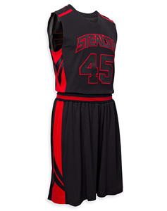 Fully Sublimation custom youth training basketball uniform