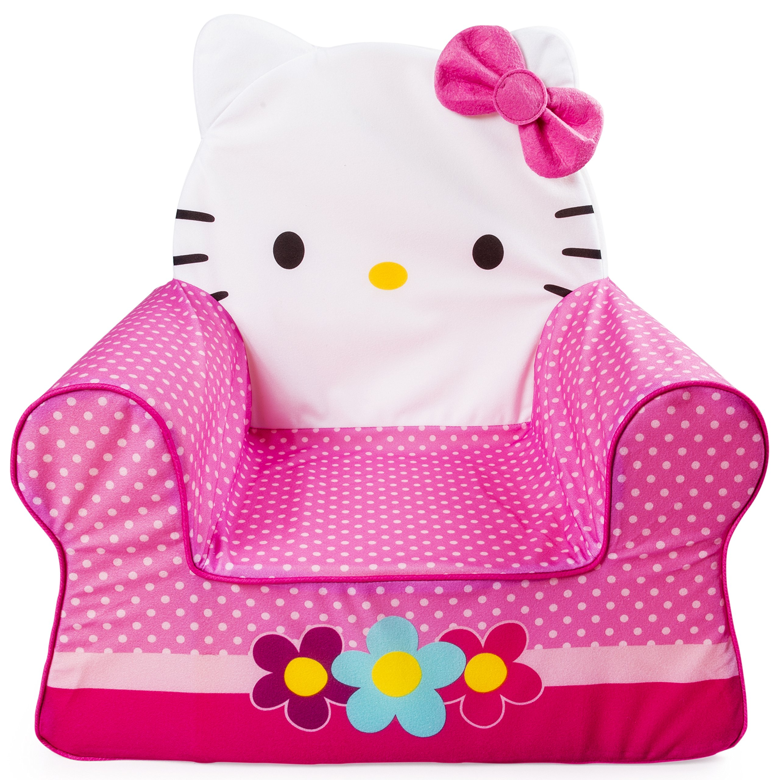Marshmallow Furniture, Children's Foam Comfy Chair, Hello Kitty, by Spin Master
