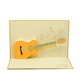 Pop up card customized design guitar pop up cards buy guitar pop pop up card customized design guitar pop up cards m4hsunfo