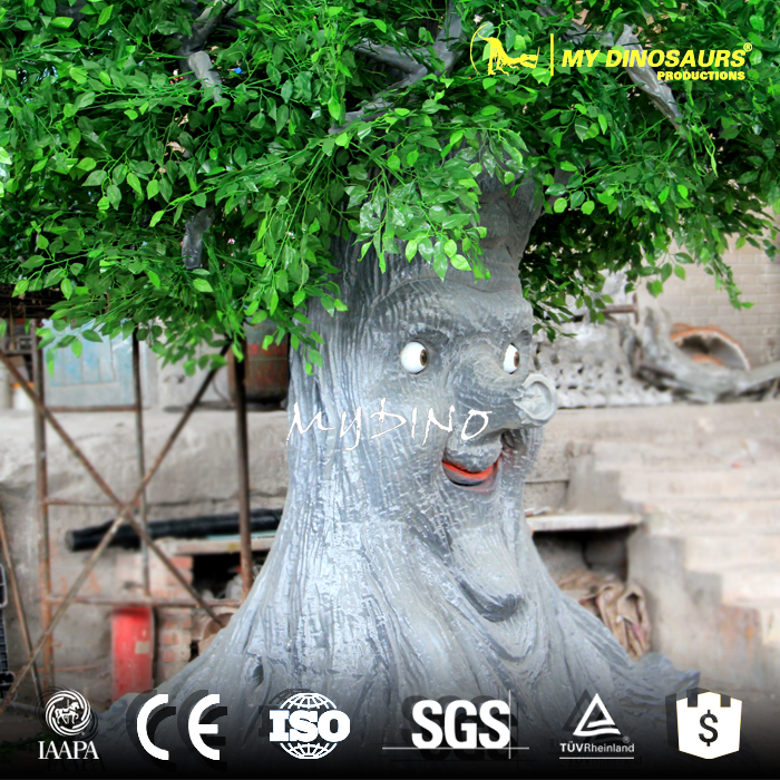 My-Dino JL26-1 Decorative Shopping Mall Decoration Talking Tree