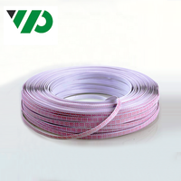 2468 26AWG/18AWG Wire 300V Multi Core Flexible Flat Ribbon Lighting Cable High Temperature AWM 2468 Cable