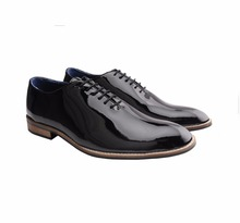 Bxxy's Black Leather Patent Shoes Party Wear Club Shoes