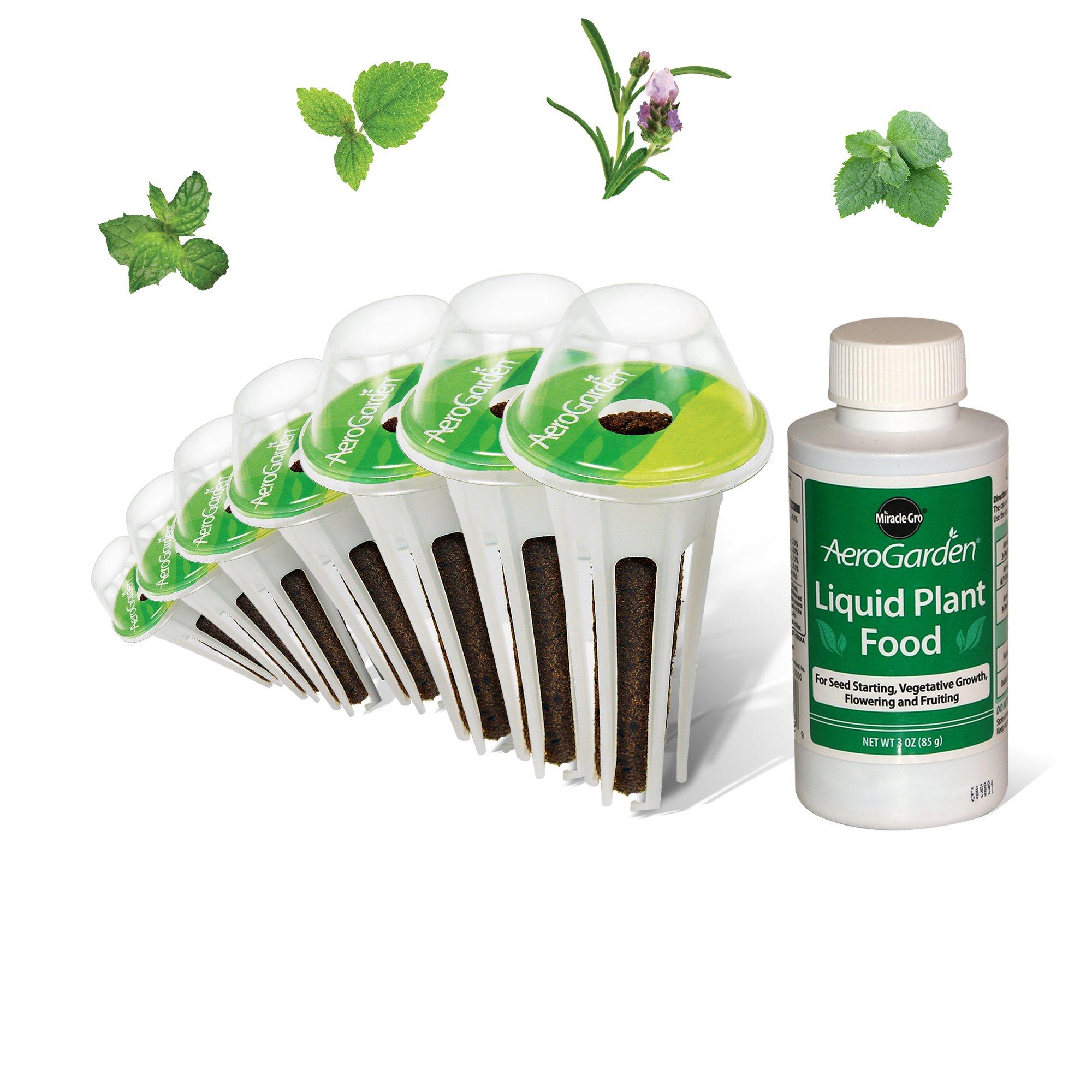 AeroGarden Fresh Tea Seed Pod Kit (7-Pod)