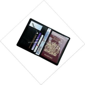 7c1396e3d26 RFID Blocking Leather Passport Holder Cover   Travel Wallet ID Card Case    2018 Passport Holder