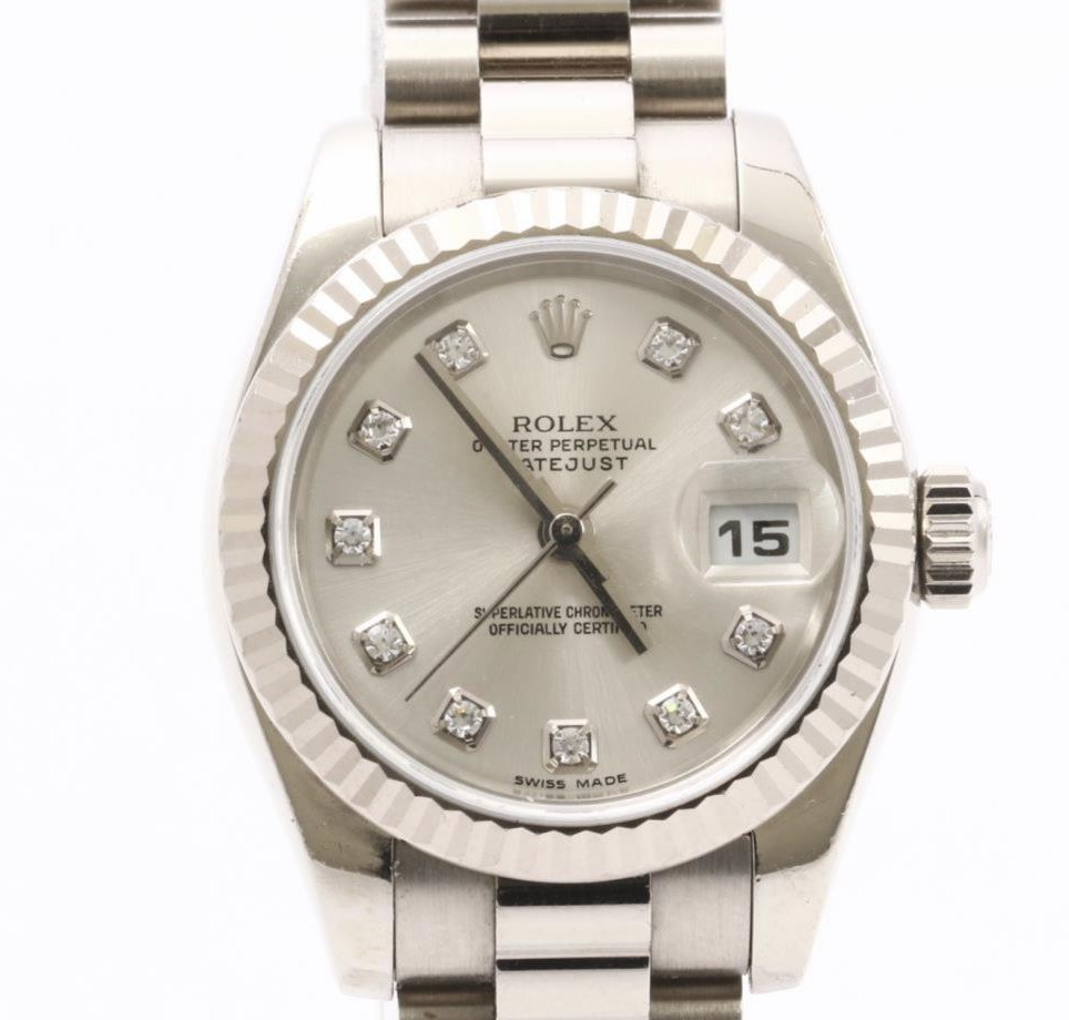 Used Mint Condition high Brand Used ROLEX Datejust 179179G Watches for bulk sale. Many brands available.