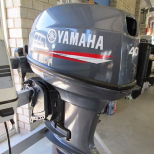 Used 2018 Yamahas 40HP Outboards Motors