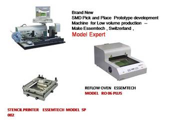 SMD Pick place machine Essemtech