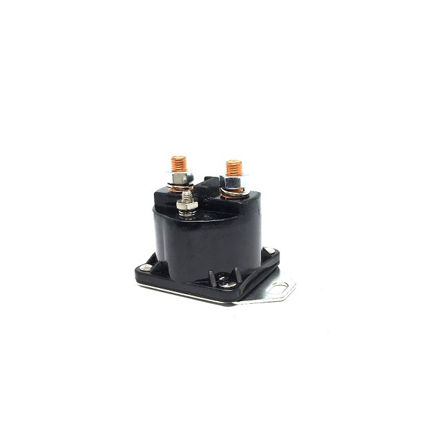 CBS-F333 12V 4 Terminal Grounded Base Solenoid for Mercury Marine, OMC 985064 18-5801 89-76416A1 240-01097 SW394