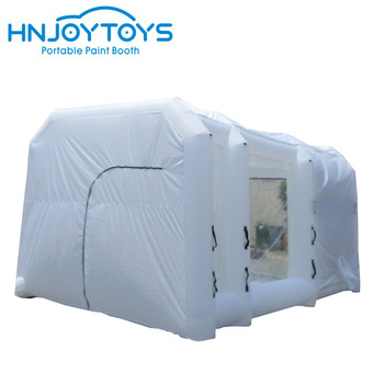 Commercial inflatable used car painting oven inflatable paint booth for rental or sale