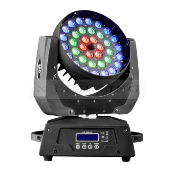 Guangzhou stage light 36*18w 6in1 led zoom wash moving head