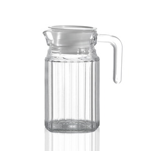 China glass supplier 35 oz cool water glass carboy jug