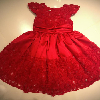 Supersale Simple Formal Dress For Baby Girl Party Dress Kid Clothes