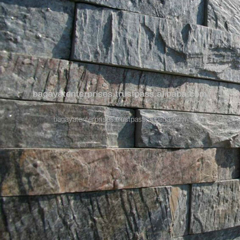 Deoli Green Quartzite Ledge Stone Panels - Buy Deoli Green Quartzite ...