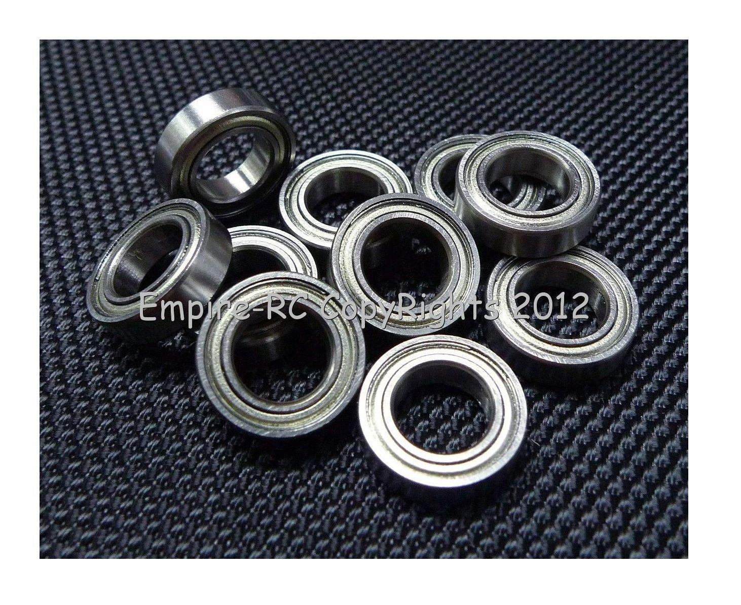 (4 PCS) (MR148ZZ) 8x14x4mm Metal Shielded Ball Bearing For ALIGN T-REX TREX 600