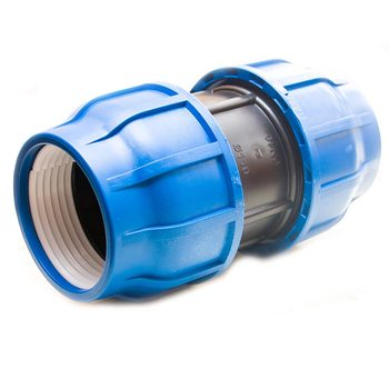 PP fittings compression adaptor 110 mm
