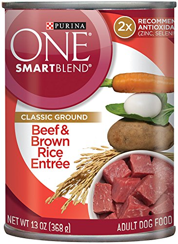 Purina ONE SmartBlend Natural Classic Ground Entree Adult Wet Dog Food - (12) 13 oz. Cans