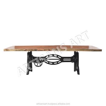 800013b7771 Custom Made Live Edge Acacia Wood Dining Table