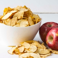 Dried Apple Chips Korean Style Processed Sliced Apple Chips Bulk