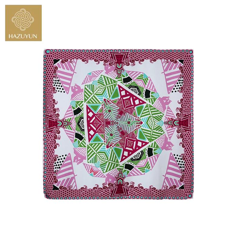 Fashion Digital Printing Square Towel Design Scarf Pattern Fabric Wholesale  Ladies Use 100% Silk Twill Scarf - Buy Silk Twill Scarf,Fashion Silk Twill