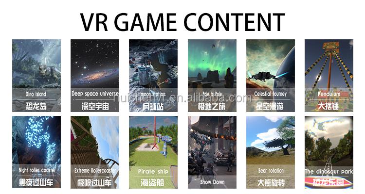 Desain Terbaru Mendebarkan Pengalaman Virtual Reality Simulator Gerak 9D VR Surf VR Slide