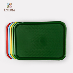 Wholesale custom stackable plastic tray for food